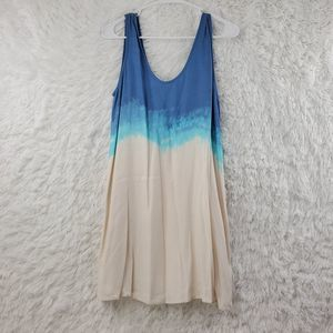 BB Dakota Ombre Casual A-line Mini Dress